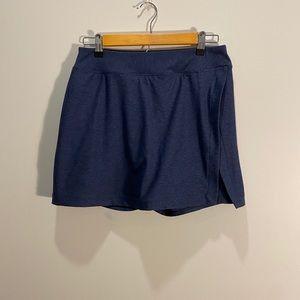 Outdoor voices court skort skirt shorts blue
